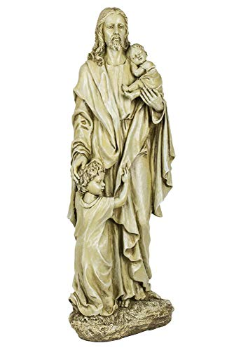 Joseph Studio 46020 Tall Standing Jesus with 2 Children Statue, 24-Inch Review