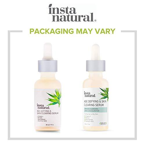InstaNatural Vitamin C Anti Aging Skin Clearing Serum - Wrinkle, Cystic Acne, Fine Line, Pigmentation, Pore Minimizer… 5