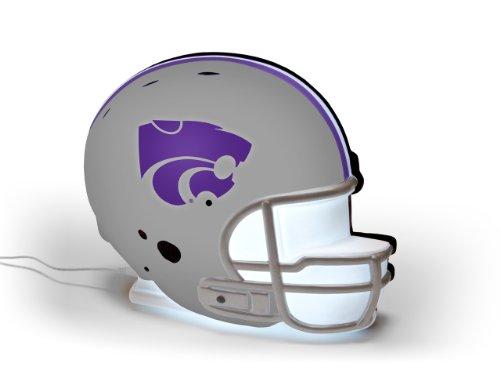 NCAA Kansas State Wildcats LED-Lit Football Helmet