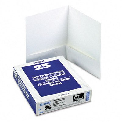 ESS53404 - Oxford Linen Finish Twin Pocket Folders