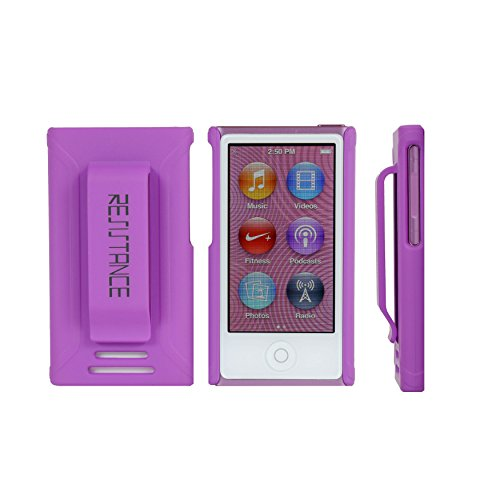 (Resistance. Nano iPod Case !! iPod Nano 7th Generation Cases !! Nano case with Clip ++ iPod Nano 7 Case. Purple - Fits Tight -)