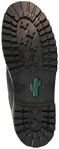 Cactus Uomo 5 C3514 Stivale Velcro Nero