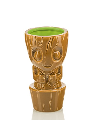 Guardians of the Galaxy Geeki Tikis – 10 oz Ceramic Tiki Mug – Baby Groot