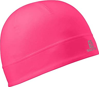 a1cf0a74e1b5 Salomon Active Beanie Fluo Women s Running Hat - One  Amazon.co.uk ...