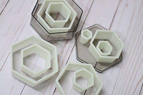 Oggibox 9-Piece Hexagon Nylon Cutter Set