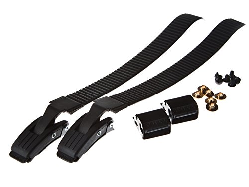 Replacement Inline Skate Buckles and Straps (Black)