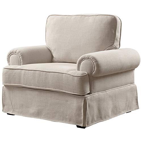 Amazon.com: Furniture of America Onrei Accent - Silla de ...