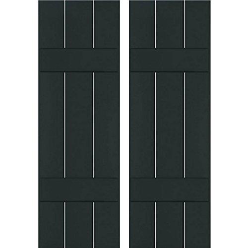 Ekena Millwork RWB12X073DGP Exterior Three Board