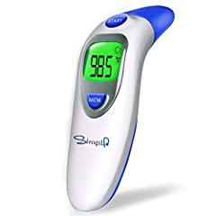 Digital Infrared Forehead & Ear Thermometers