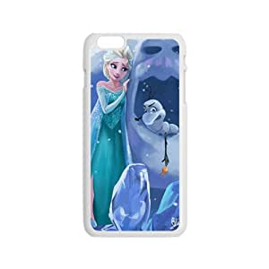 Frozen Princess Elsa and Olaf Cell Phone Case for Iphone 6
