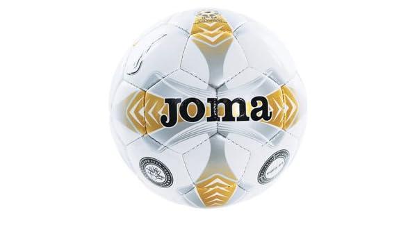 Joma Egeo Sala 64 - Balón de fútbol sala, color blanco y dorado ...