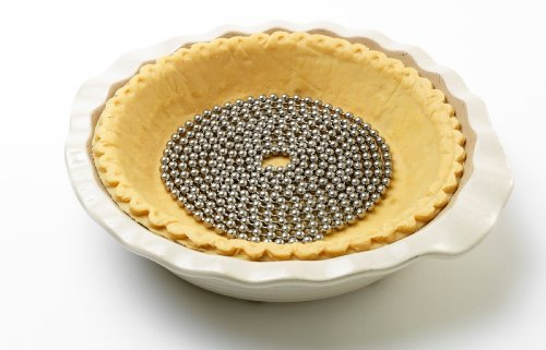Pie Weight - Perfect Crust Pie Stainless Steel Weight Chain - 10 Feet by Camerons Products (Chain Pie Crust Weight)
