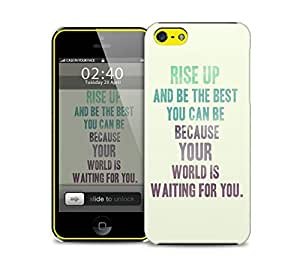 rise up quote iPhone 5c protective phone case