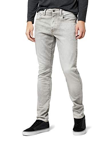 3301 Gris Straight Para lt G Raw Jeans star 424 Aged Hombre Tapered ZzxwEWOt8q