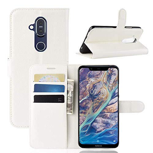 Superyong Nokia 8.1 Wallet Case Wallet Series...
