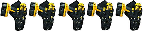 CLC 5023 Deluxe Cordless Poly Drill Holster, Black ()