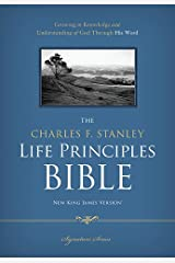 NKJV, The Charles F. Stanley Life Principles Bible, Hardcover
