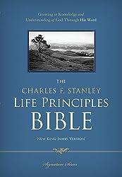 NKJV, The Charles F. Stanley Life Principles Bible, Hardcover