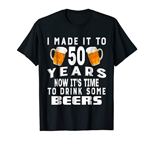 50th Birthday T-Shirt For Beer Enthusiast Drinking Party ()