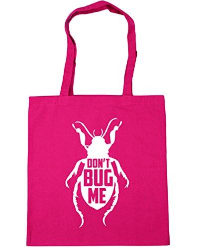 Bag Tote Bug Fuchsia 42cm x38cm Me 10 Gym Don't Shopping HippoWarehouse litres Beach f40pwBqx