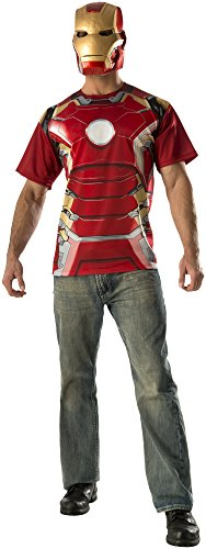 Iron Man Costume 38-40 (Rubie's Costume Co Men's Avengers 2 Age Of Mark 43