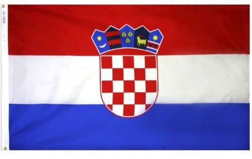 3X5 Ft Croatia Croatian Flag With Brass Grommets