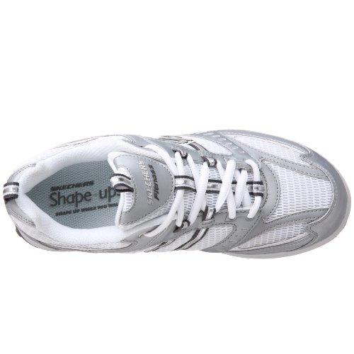 Scarpe Da Ginnastica Da Donna Di Skechers Sneaker Argento / Bianco