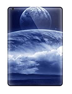 New JXEFXHh18418tVlXw Space Art Tpu Cover Case For Ipad Air