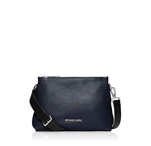 MICHAEL Michael Kors Jane Medium Messenger Bag (Navy)