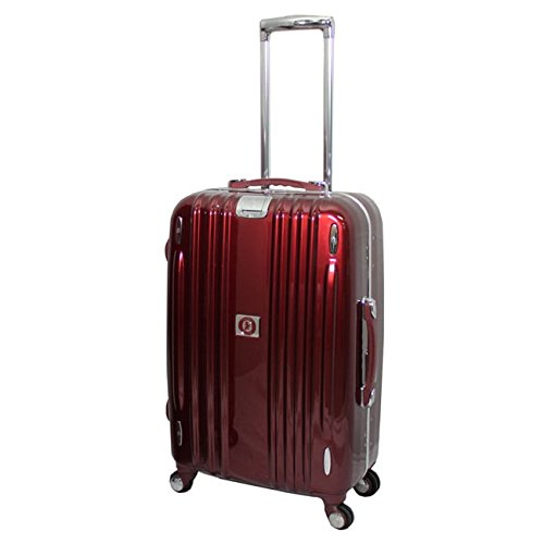 Heys Crown Edition M Elite 26-inch Hardside Spinner Upright Suitcase with TSA Lock Red by Heys
