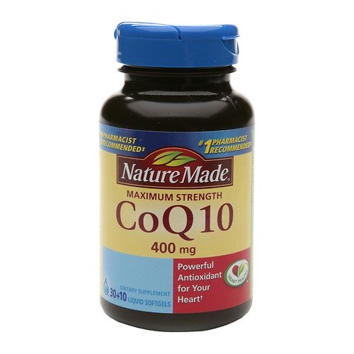 Nature Made Nat Made Co Q10 Max Strength 400Mg 40 Sg, Pack of 3 by Nature Made