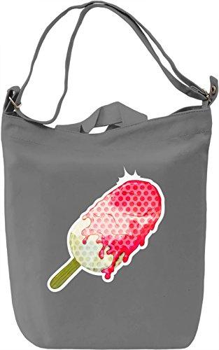 Pop Art Ice Cream Borsa Giornaliera Canvas Canvas Day Bag| 100% Premium Cotton Canvas| DTG Printing|