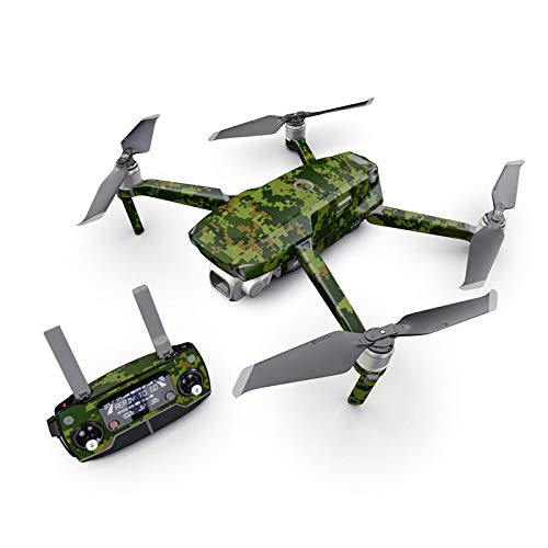 CAD Camo Decal Kit for DJI Mavic 2 Drone - Includes 1 x Drone/Battery Skin + Controller ()