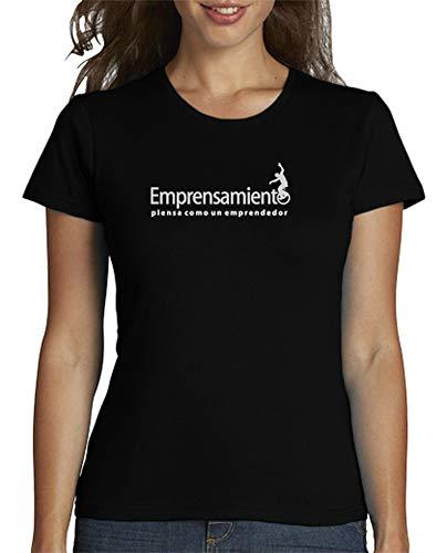Para Latostadora Mujer Fime Camiseta Negro w4Zq0