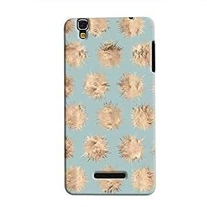 Cover It Up - Sand Star Cyan YU Yureka Hard case