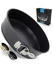 Zulay Premium 9 Inch Cheesecake Pan - Springform Pan (Black)