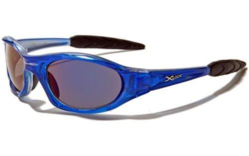 Sport Conduite Deluxe 'Extreme' UV400 Protection Adulte Soleil Unique X Lunettes Vault Deluxe Taille Inclus Moto de Etui Loop Case Bleu Cyclisme 100 Ski avec Etui vqCSwx0C