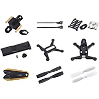 Walkera Rodeo 150 [QTY: 1] 150-Z-02(B) Fuselage Black Body Frame Cover [QTY: 1] 150-Z-04(B) Bottom Fame Part [QTY: 1] 150-Z-11(B) Receiver Antenna Fixing Mount Holder [QTY: 1] 150-Z-03(B) Gold [QTY: 1