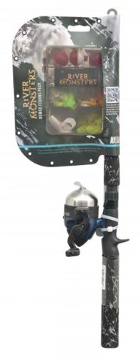 River Monsters Telescopic Spin Cast Combo, Outdoor Stuffs
