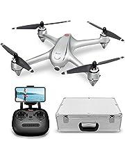 Potensic Drone GPS, Drone sin Escobilla con Cámara 1080P HD, FPV Avión con Función Sígueme, Plantear Ruta, 110º Gran Angular, Rotación por Punto de Interés, Altitude Hold, Retorno a Casa, D80