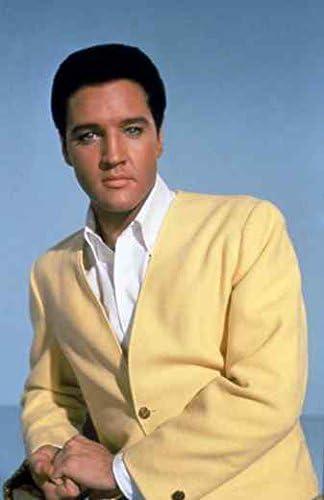 Lienzo tamaño grande Elvis Presley 04 A2 impresión de 42 x 60 cm caja lienzo 16 x 60,96 cm