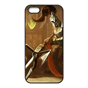iPhone 4 4s Cell Phone Case Black League of Legends Viscero Xin Zhao LM5662018