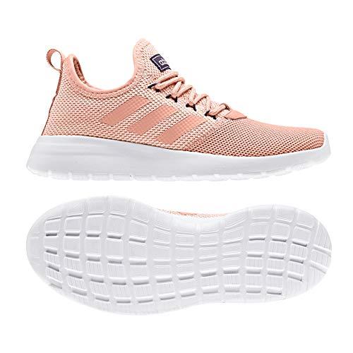 adidas Lite Racer RBN Shoe Women's Running 7 Dusted PinkClear Orange