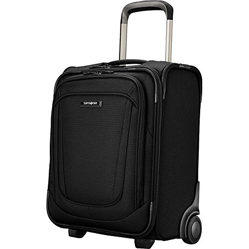 Samsonite Silhouette 16 Underseat 2-Wheeled Carry On (Obsidian)