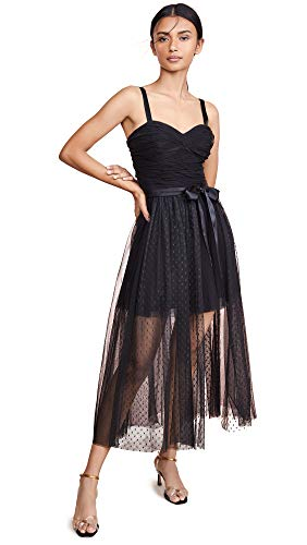 Cinq a Sept Women's Madelyn Dress, Black, 10 (Cinq A Sept Evangeline Tulle Midi Dress)
