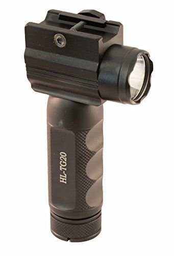 HiLight Aimkon Rail Mounted 800 Lumen Strobing Tactical Light - Batteries Included