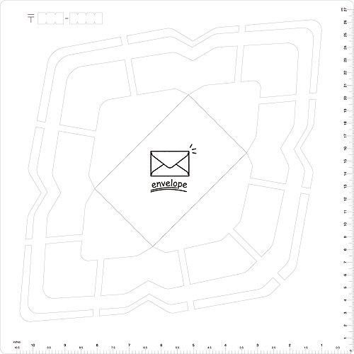 Kuretake Handmade Envelope Template - Western Version