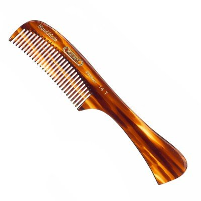 Kent 14T Comb All Course The Hand Made Comb for Men, 6.5 Inch, 6.5 Ounce