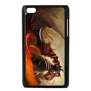 iPod Touch 4 Case Black Tryndamere league of legends 004 KI5103372