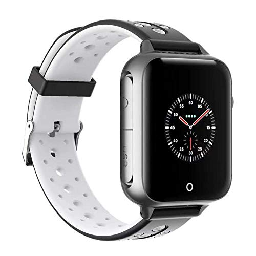 Storagc Smart Watch, IP54 Resistente al Agua, Reloj Bluetooth para teléfono Inteligente, Doble posicionamiento de GPS+LBS 1,54 Pulgadas, Pantalla de Color, ...